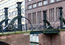 jungfernbruecke, most dziewic w berlinie