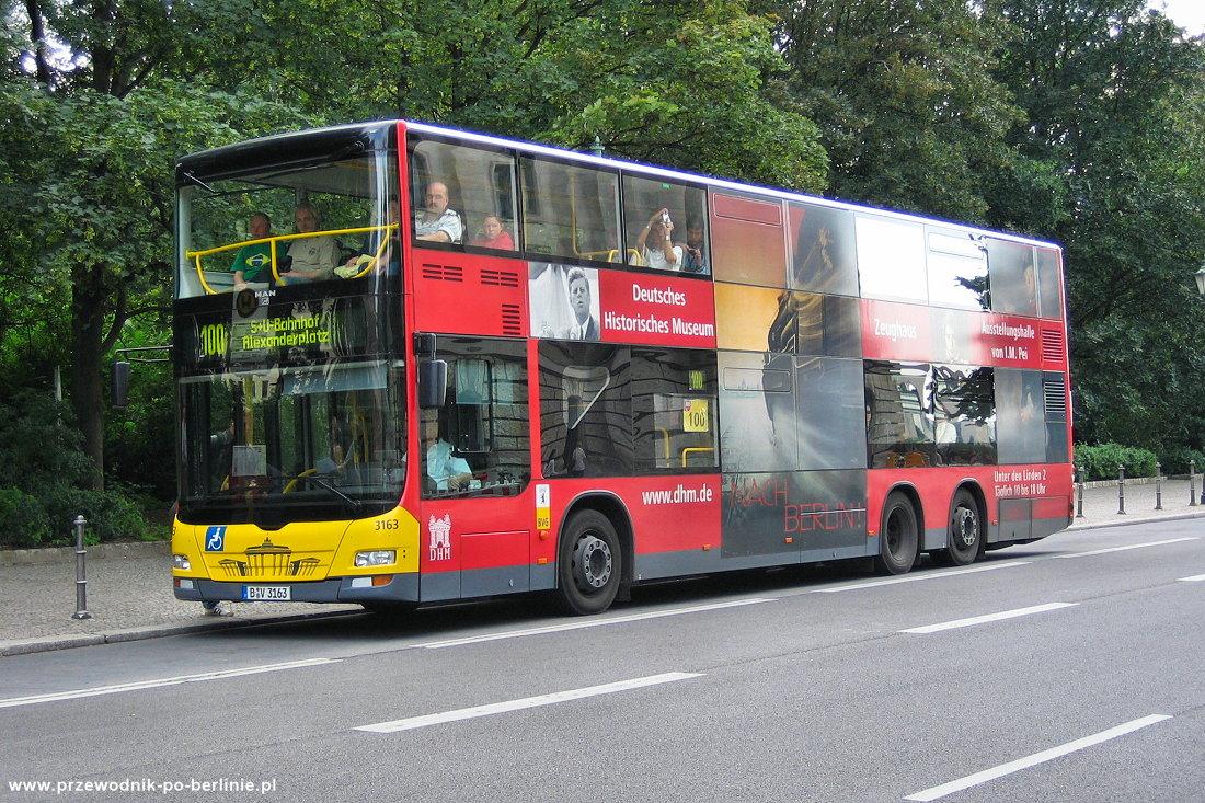 Autobusy w Berlinie Przewodnik po Berlinie
