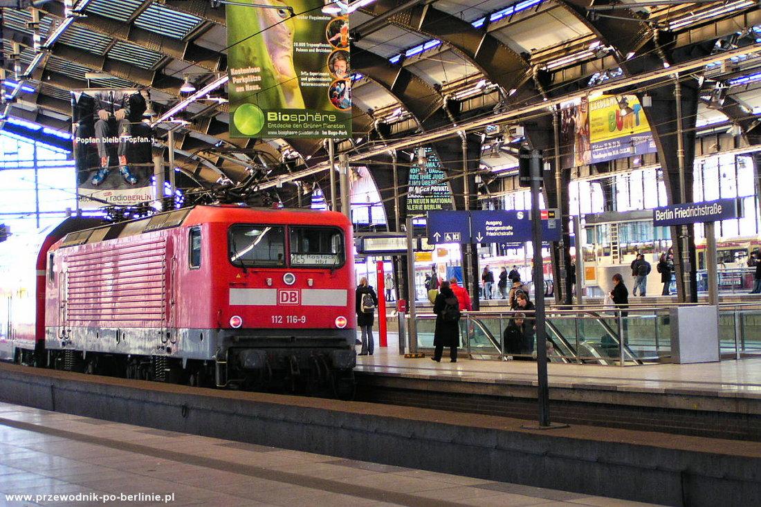 Kolej w Berlinie Przewodnik po Berlinie