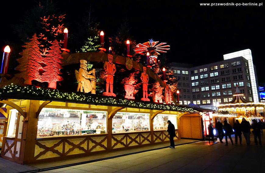 Świąteczny Jarmark na Placu Aleksandra w Berlinie :: Joanna Maria Czupryna, Przewodnik po Berlinie