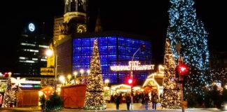 Jamark Bożonarodzeniowy, Kaiser-Wilhelm-Gedächtnis-Kirche :: Joanna Maria Czupryna, Przewodnik po Berlinie