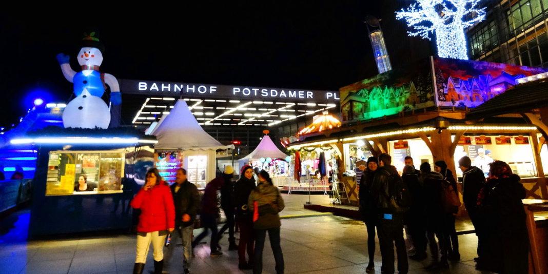 Winterwelt na Placu Poczdamskim :: Joanna Czupryna, Przewodnik po Berlinie
