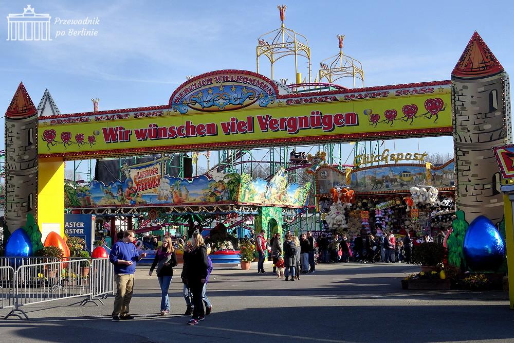 Wiosenny festyn Zentraler Festplatz Berlin. Przewodnik po Berlinie, Joanna Maria Czupryna