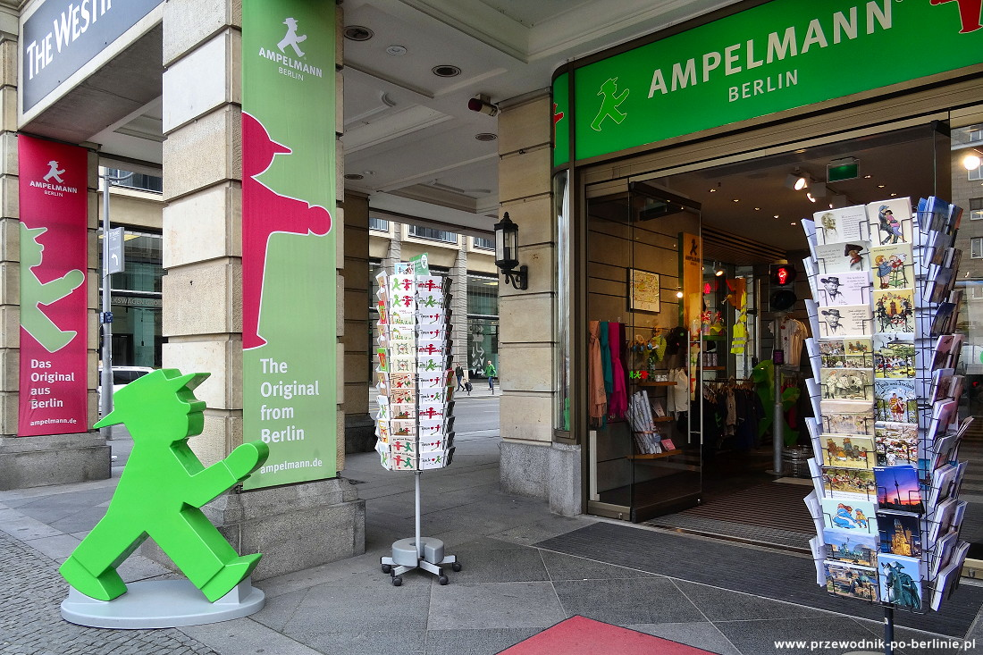 Pamiątki z Berlina Ampelmann Przewodnik po Berlinie