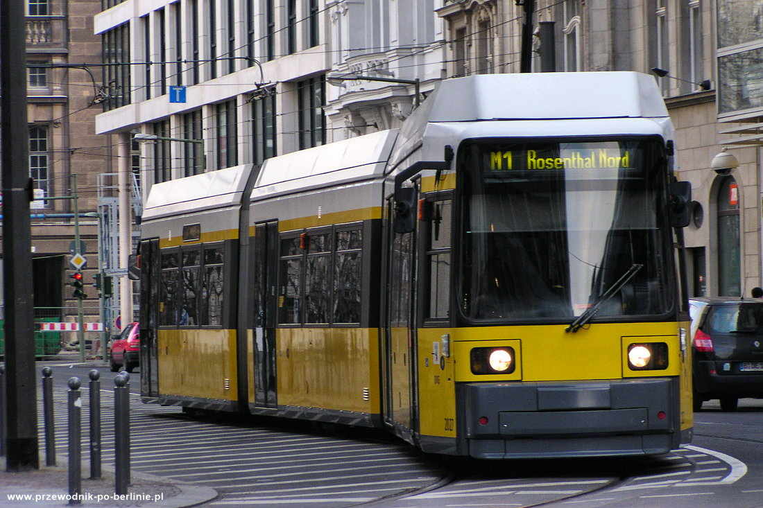 Tramwaj w Berlinie Przewodnik po Berlinie