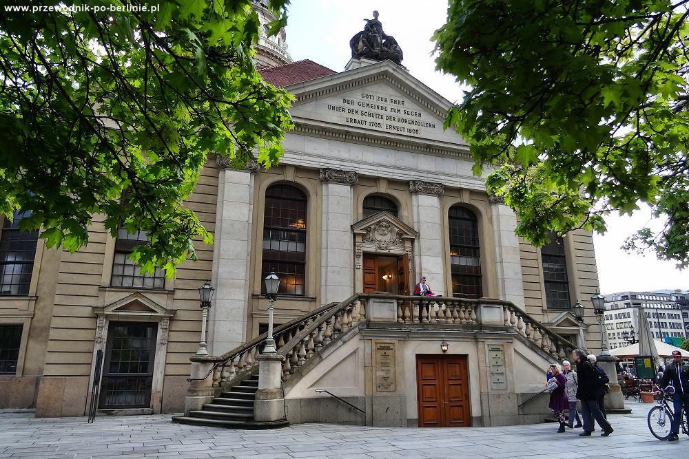 rozwój berlina kościół francuski