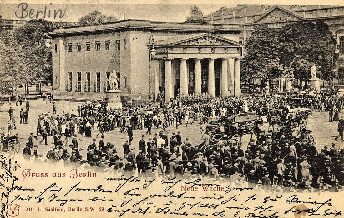 Nowy Odwach Neue Wache Berlin Przewodnik po Berlinie Joanna Maria Czupryna