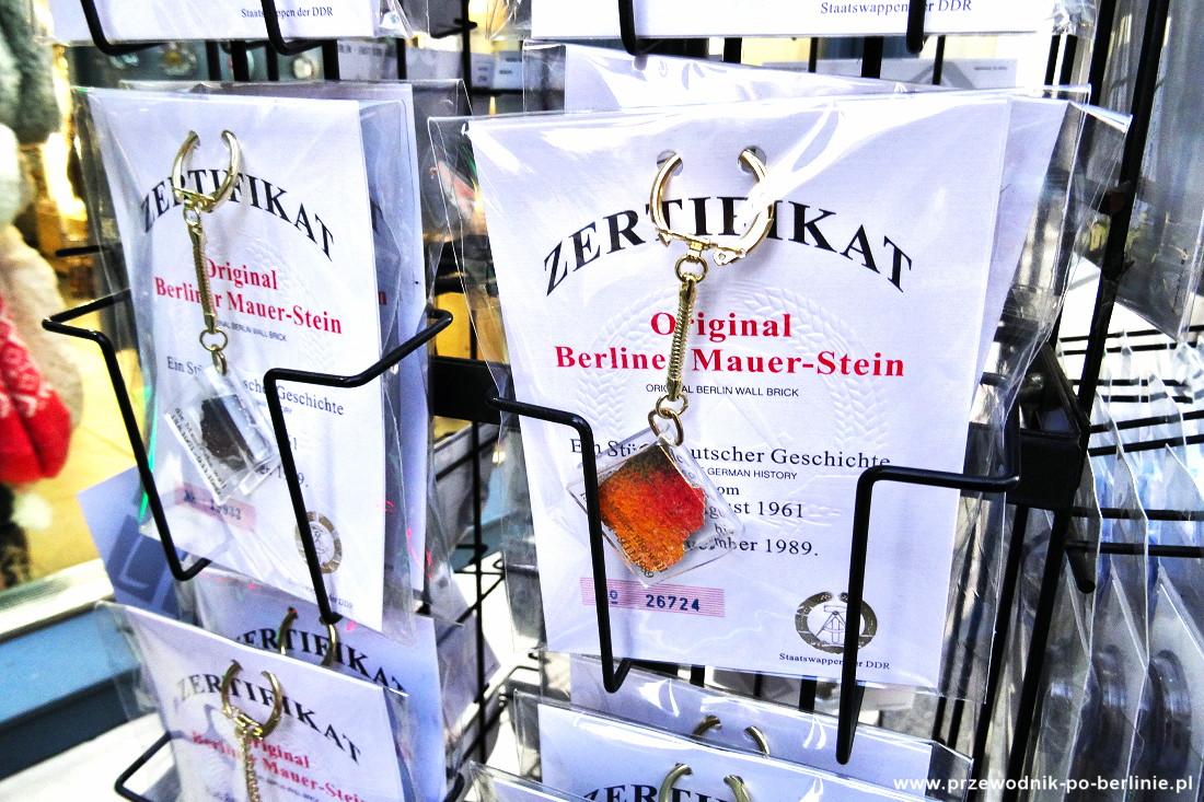 Pamiątki z Berlina Przewodnik po Berlinie