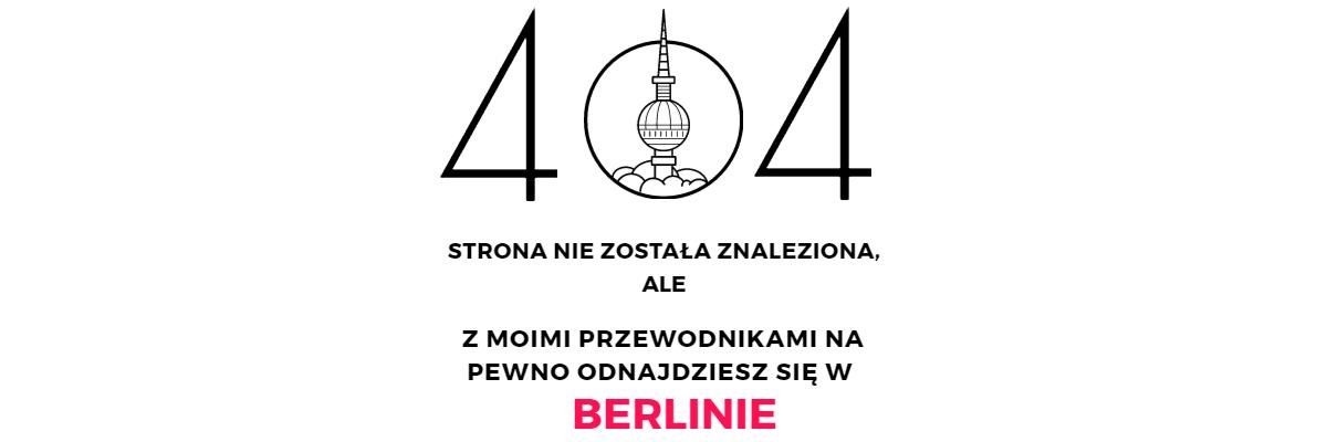 strona 404 Przewodnik po Berlinie