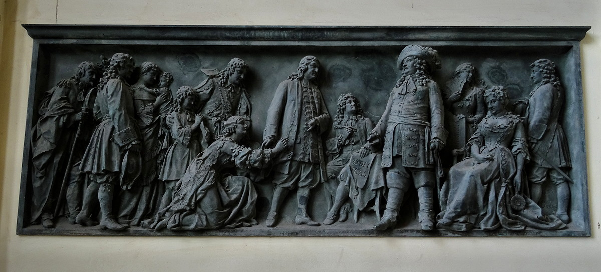 Relief Hugenoci 1685